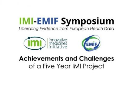 Sign up for the IMI-EMIF symposium on April 18th in Brussels