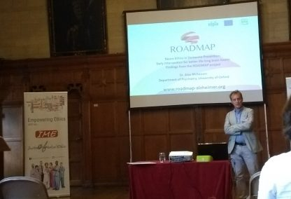 ROADMAP presents at the Institute of Medical Ethics in Oxford